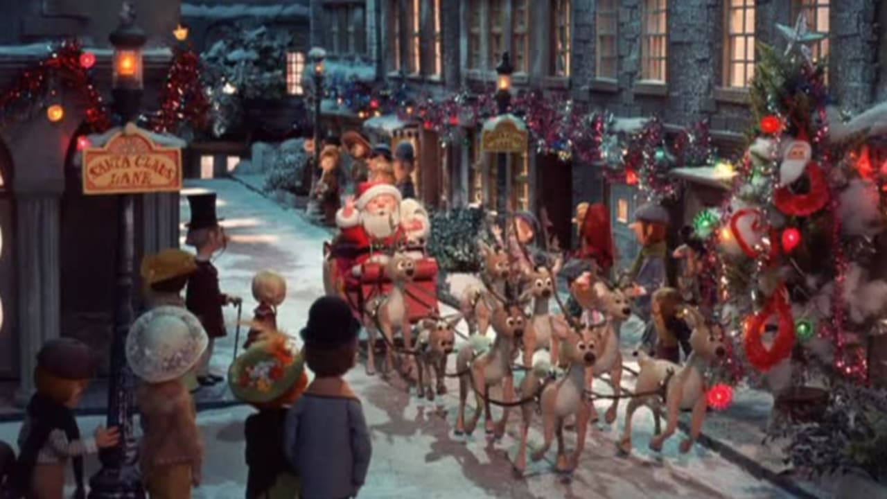 The Year Without a Santa Claus backdrop