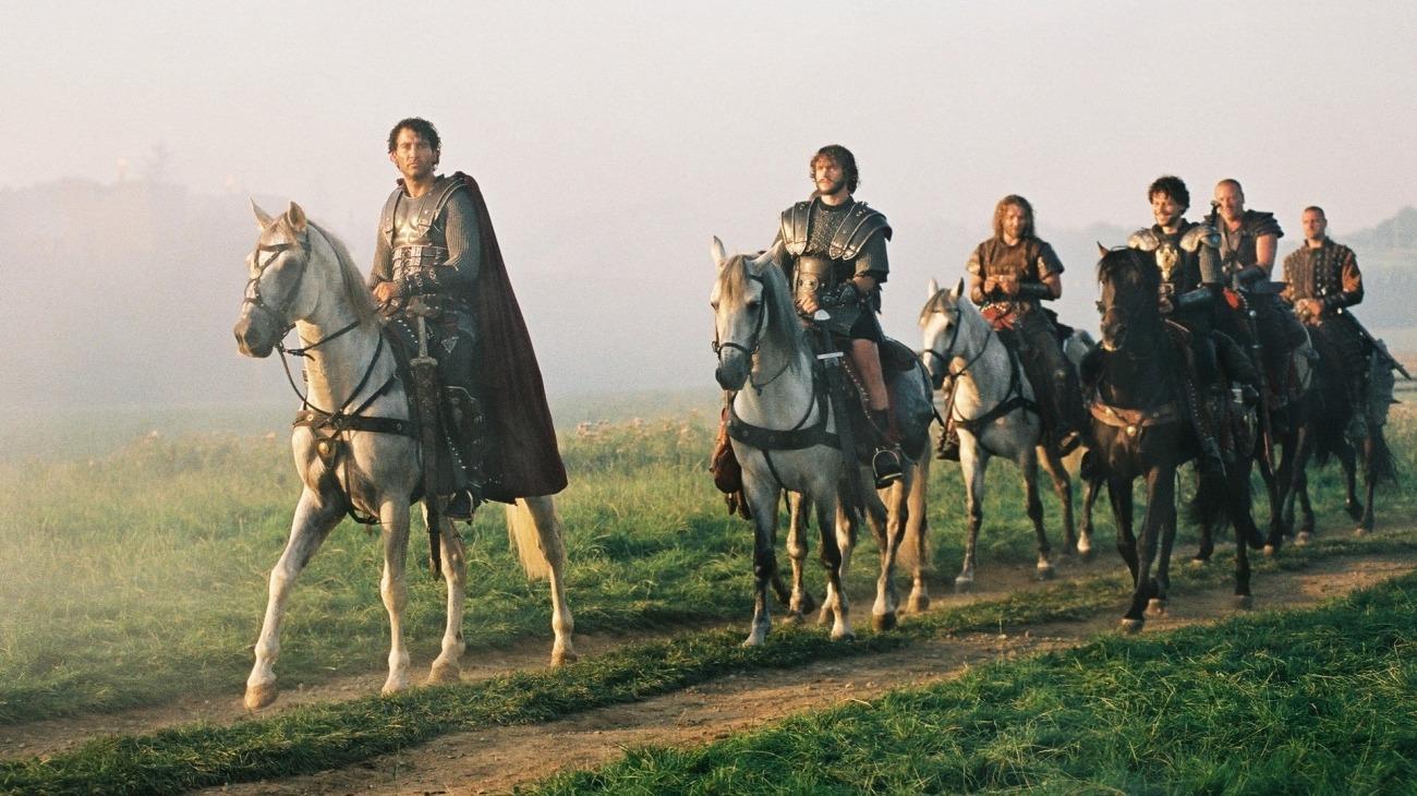 King Arthur backdrop