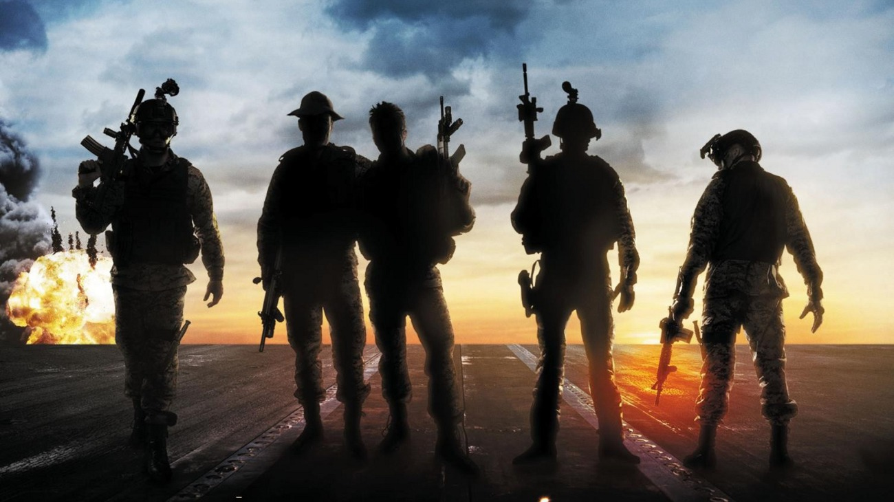 Act of Valor backdrop