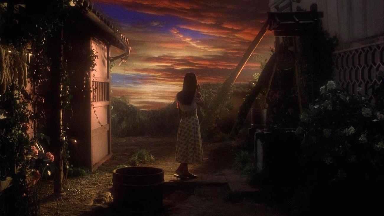 House backdrop