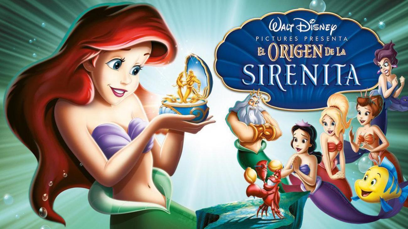 The Little Mermaid: Ariel's Beginning backdrop