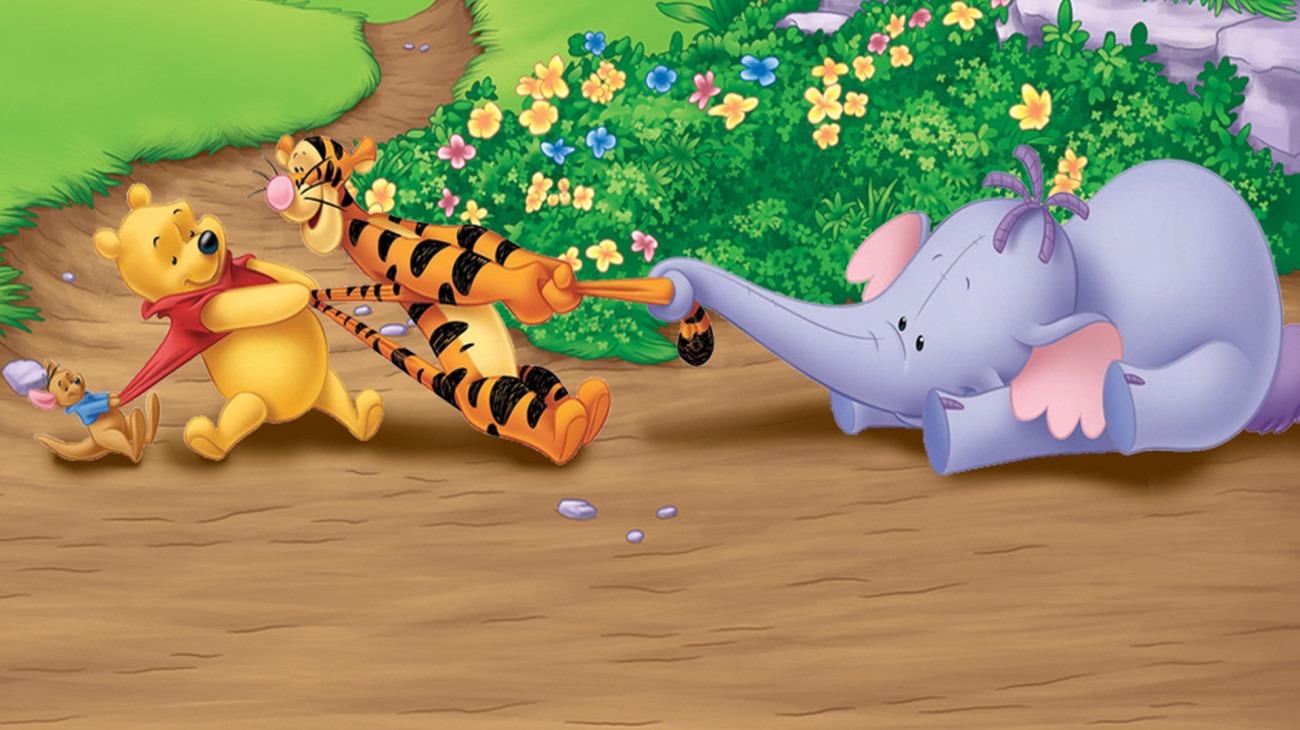 Pooh's Heffalump Movie backdrop