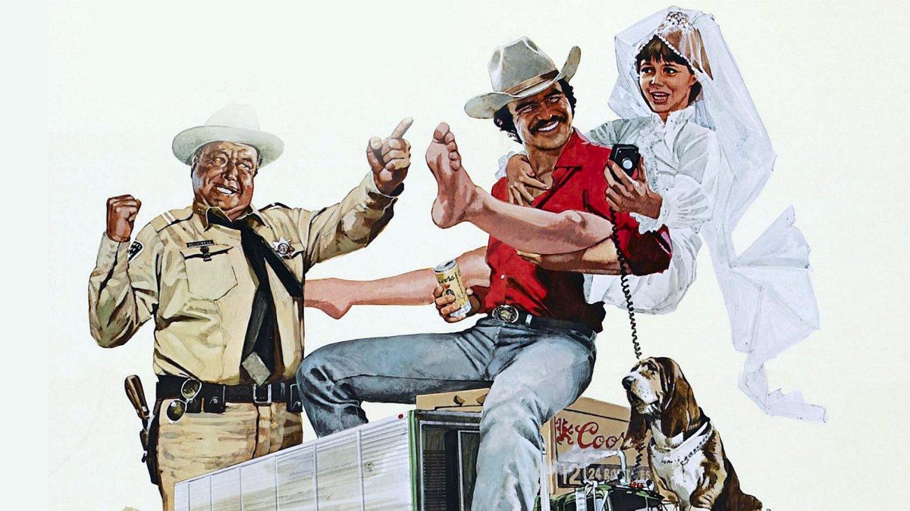Smokey and the Bandit backdrop