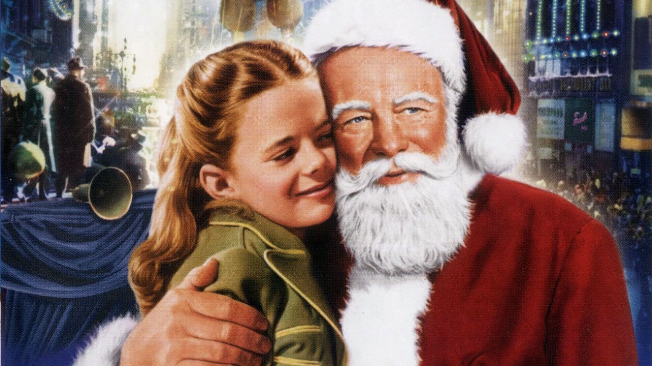 Miracle on 34th Street backdrop