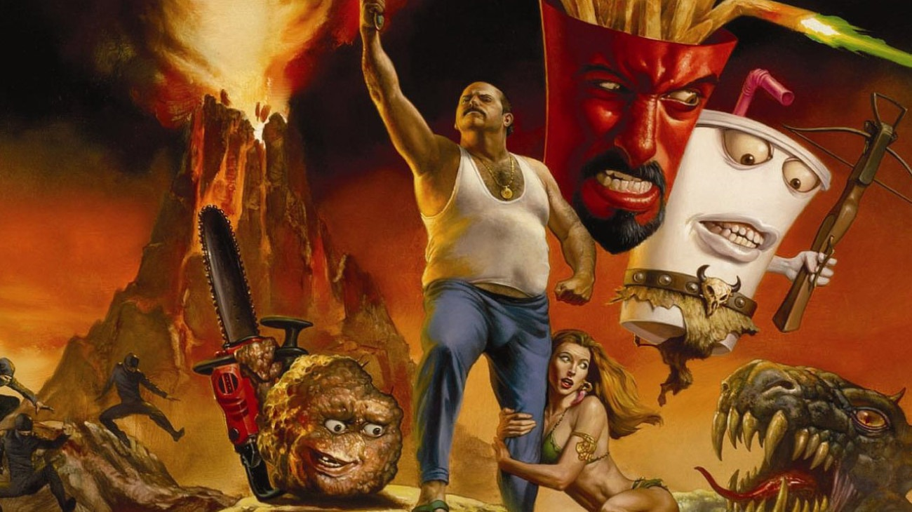 Aqua Teen Hunger Force Colon Movie Film for Theaters backdrop