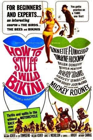 How to Stuff a Wild Bikini poster