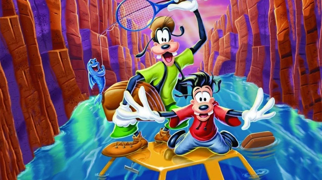 A Goofy Movie backdrop