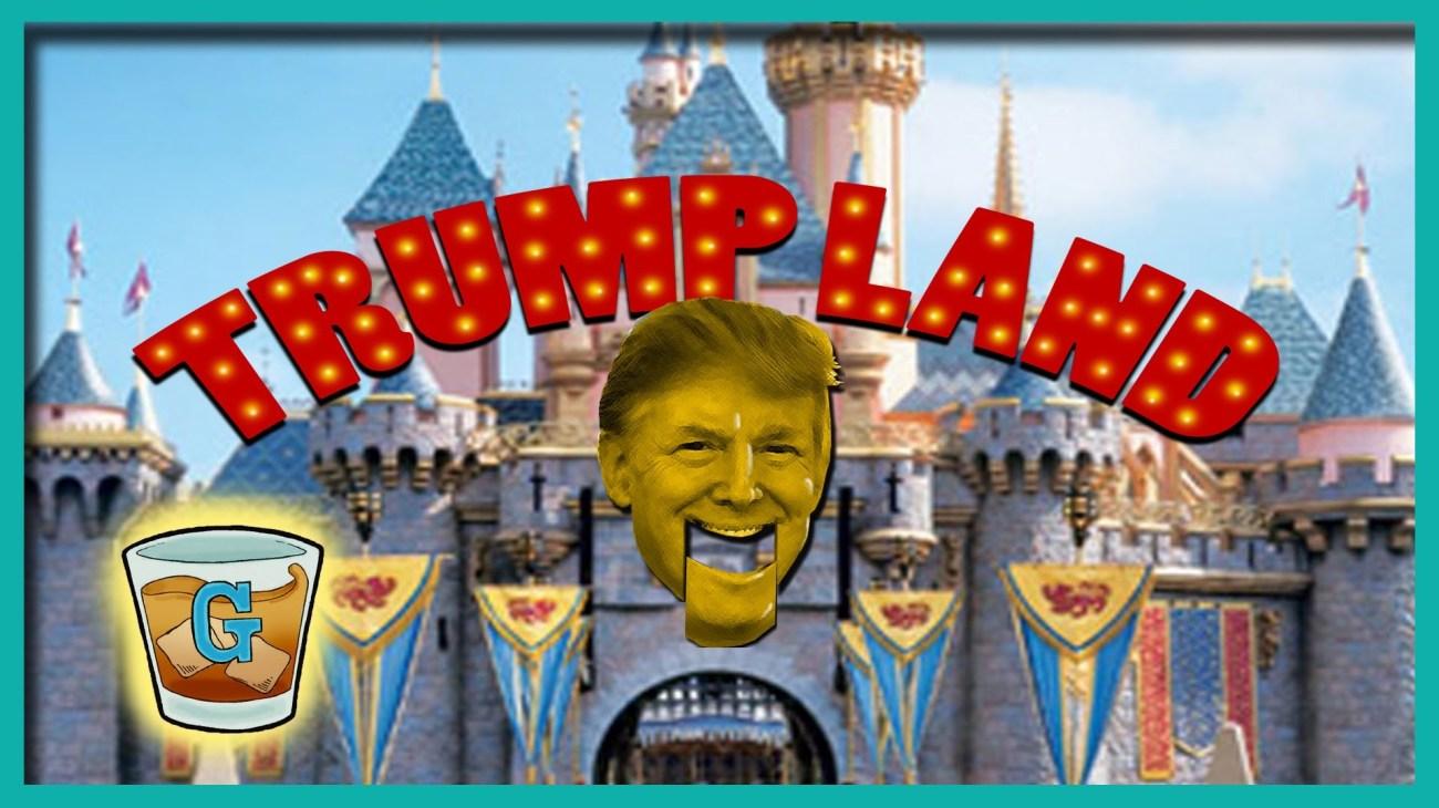 Michael Moore in TrumpLand backdrop