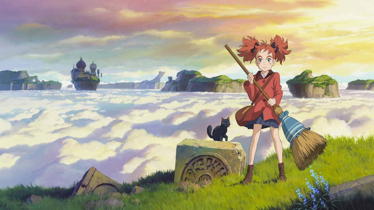 Mary and the Witch's Flower backdrop