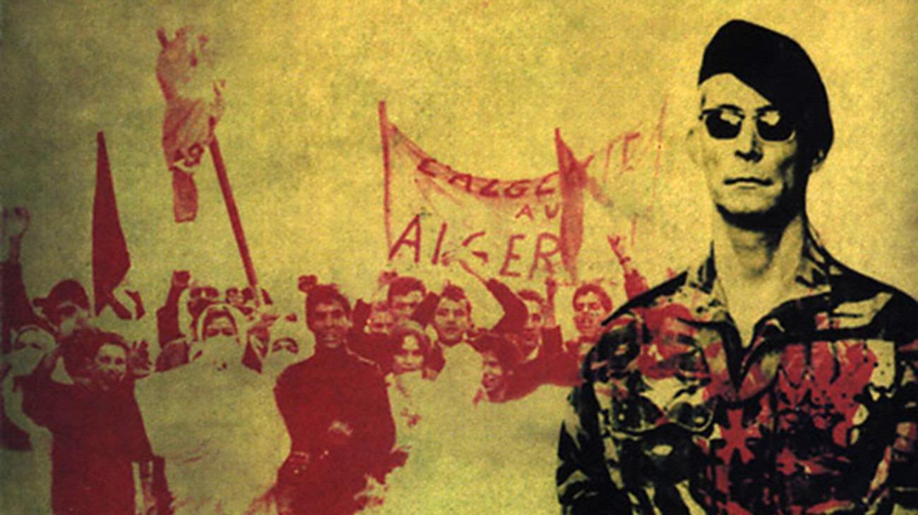 The Battle of Algiers backdrop