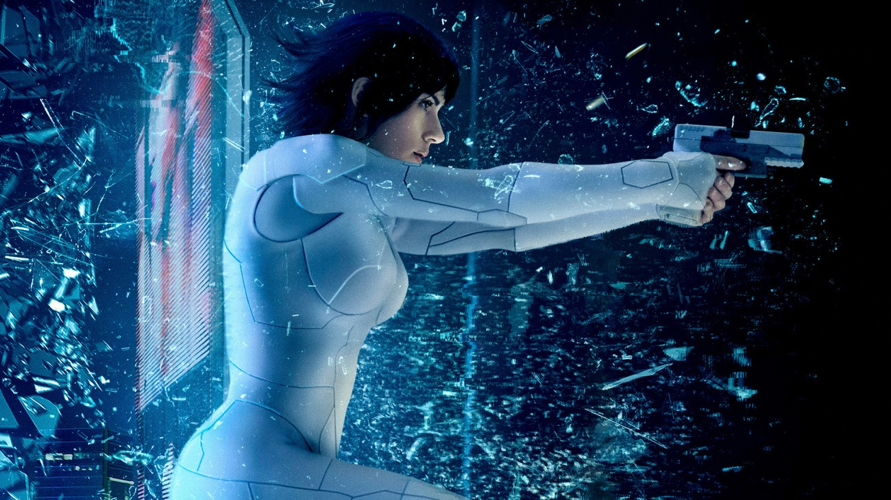 Ghost in the Shell backdrop
