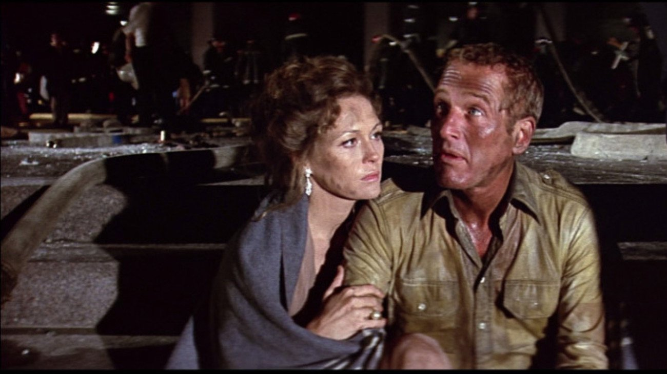 The Towering Inferno backdrop
