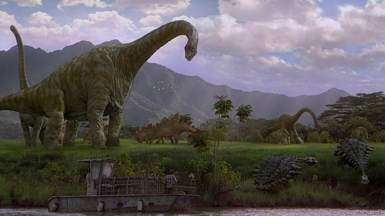 Jurassic Park III backdrop