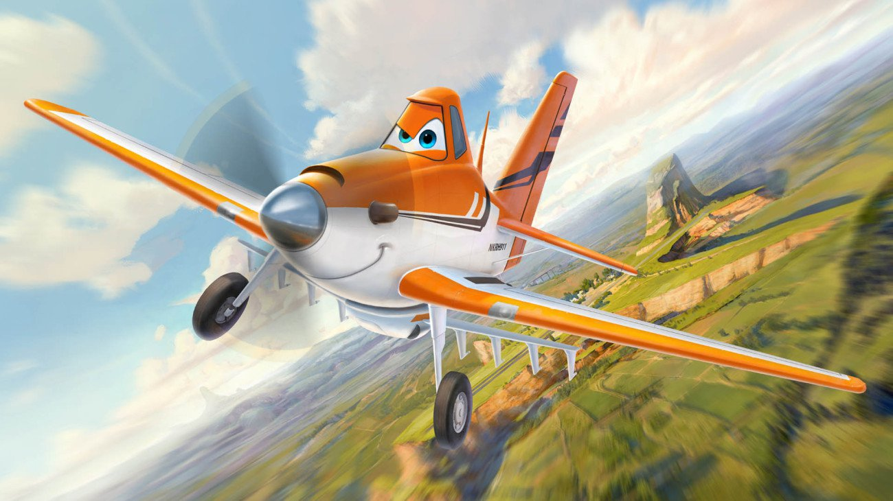 Planes backdrop