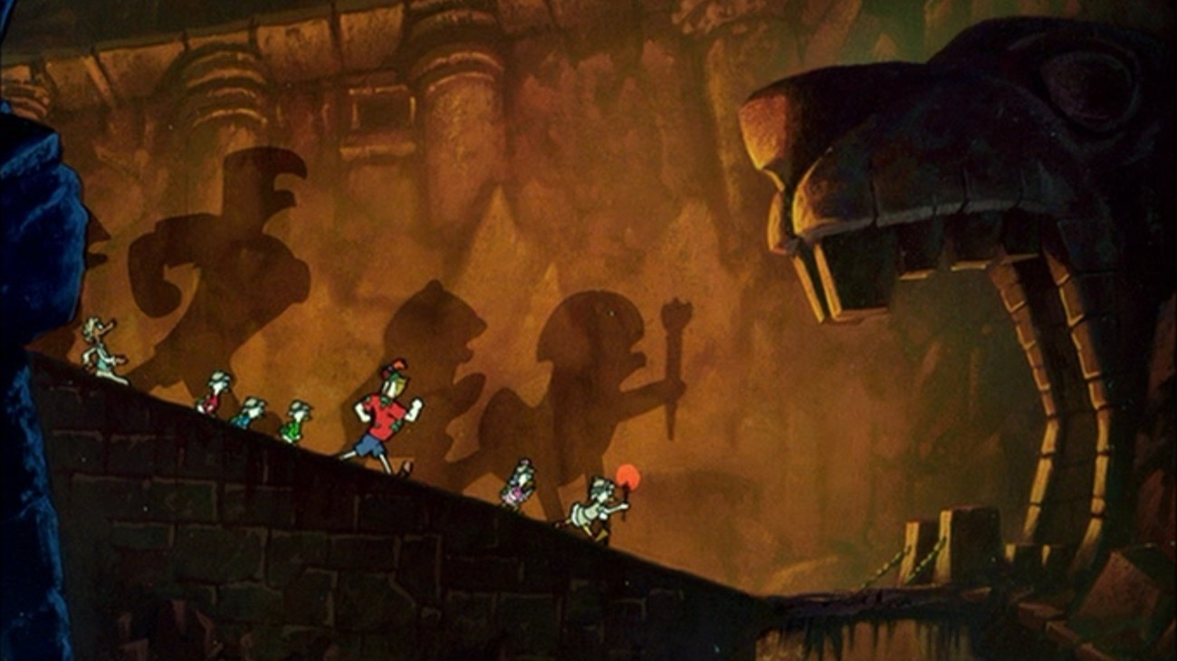 DuckTales the Movie: Treasure of the Lost Lamp backdrop