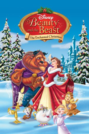 Beauty and the Beast: The Enchanted Christmas poster