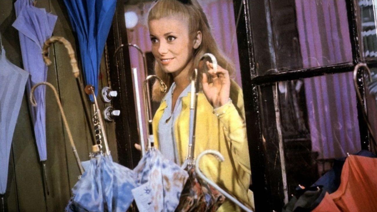 The Umbrellas of Cherbourg backdrop