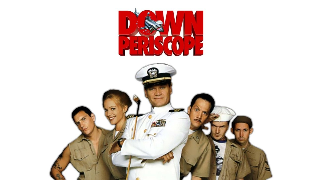 Down Periscope backdrop