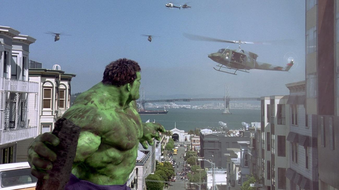 Hulk backdrop