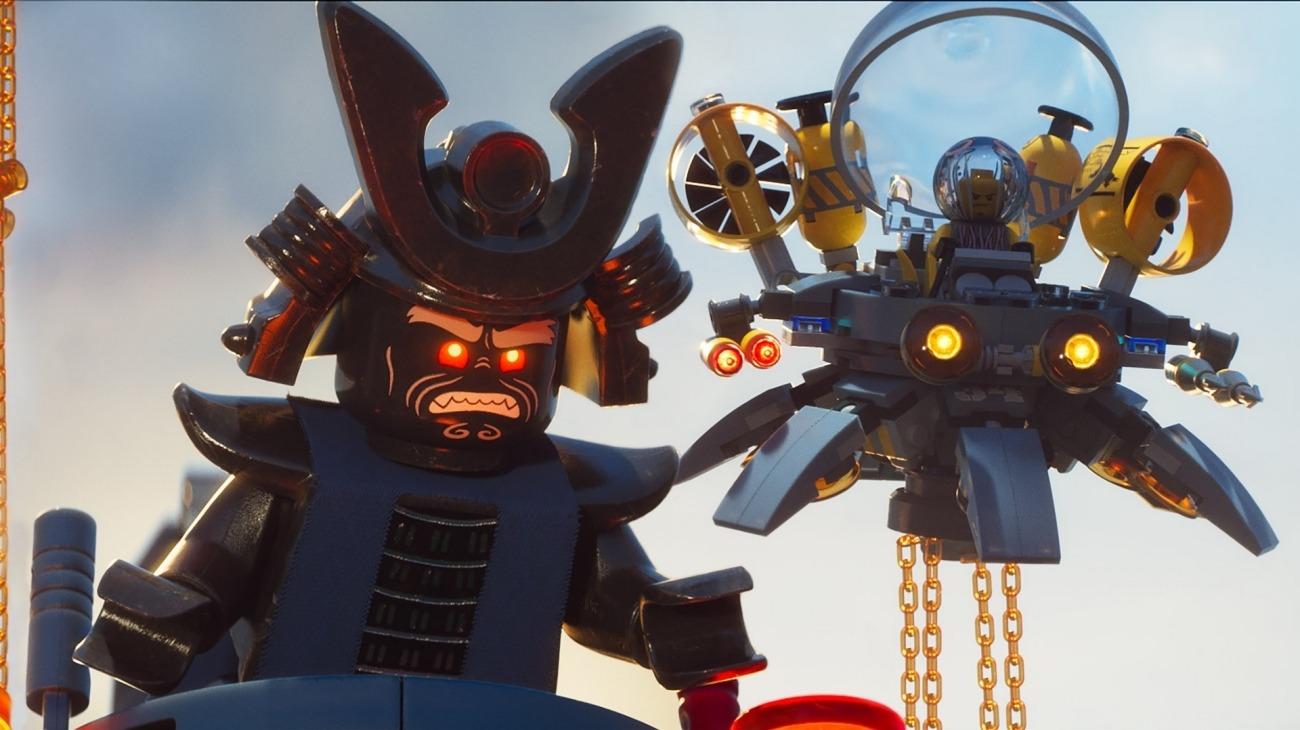 The Lego Ninjago Movie backdrop