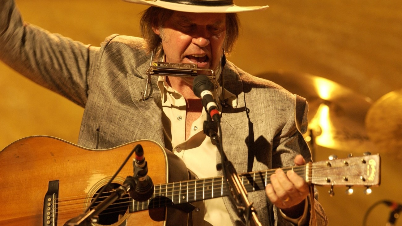 Neil Young: Heart of Gold backdrop
