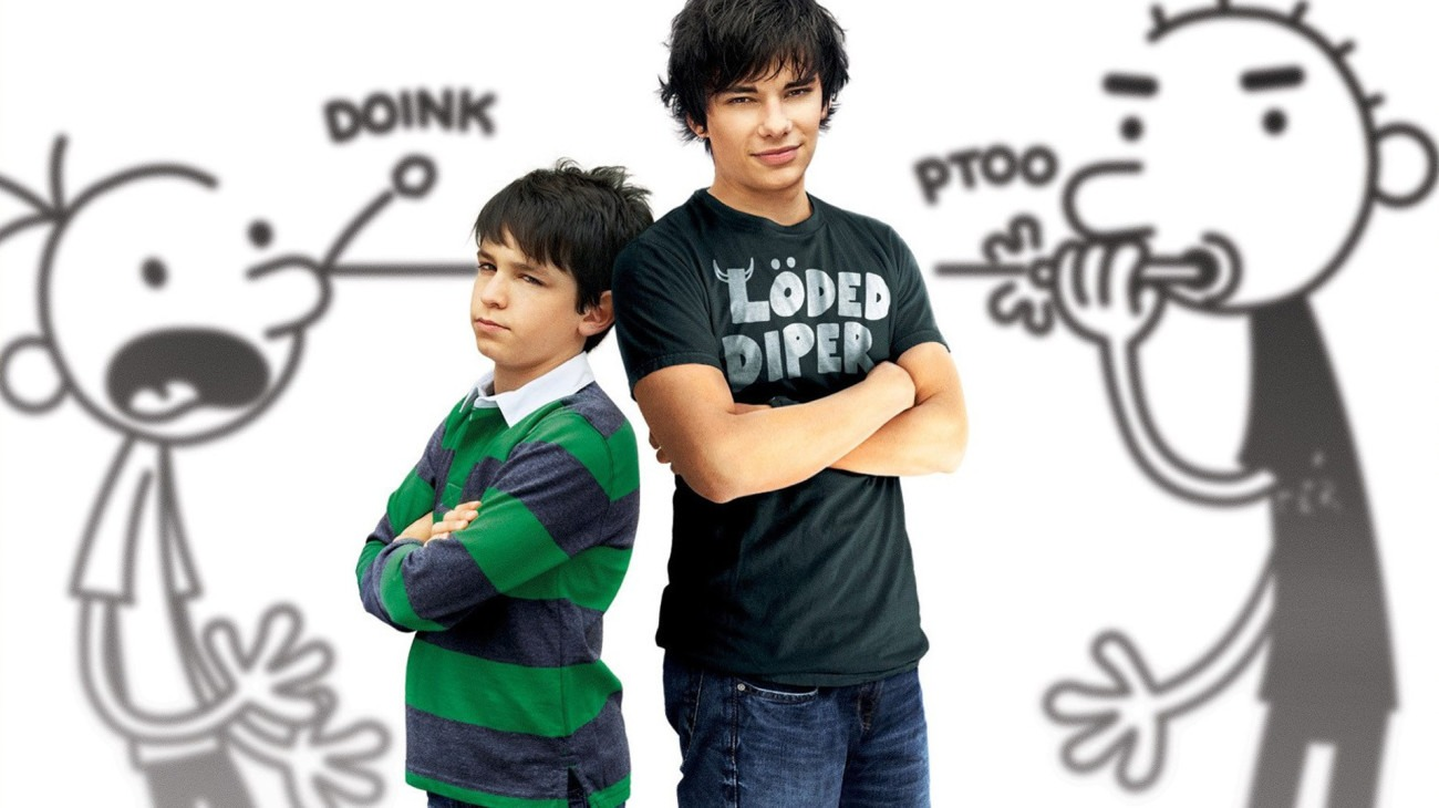 Diary of a Wimpy Kid: Rodrick Rules backdrop