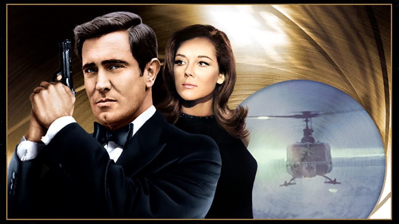 On Her Majesty's Secret Service backdrop