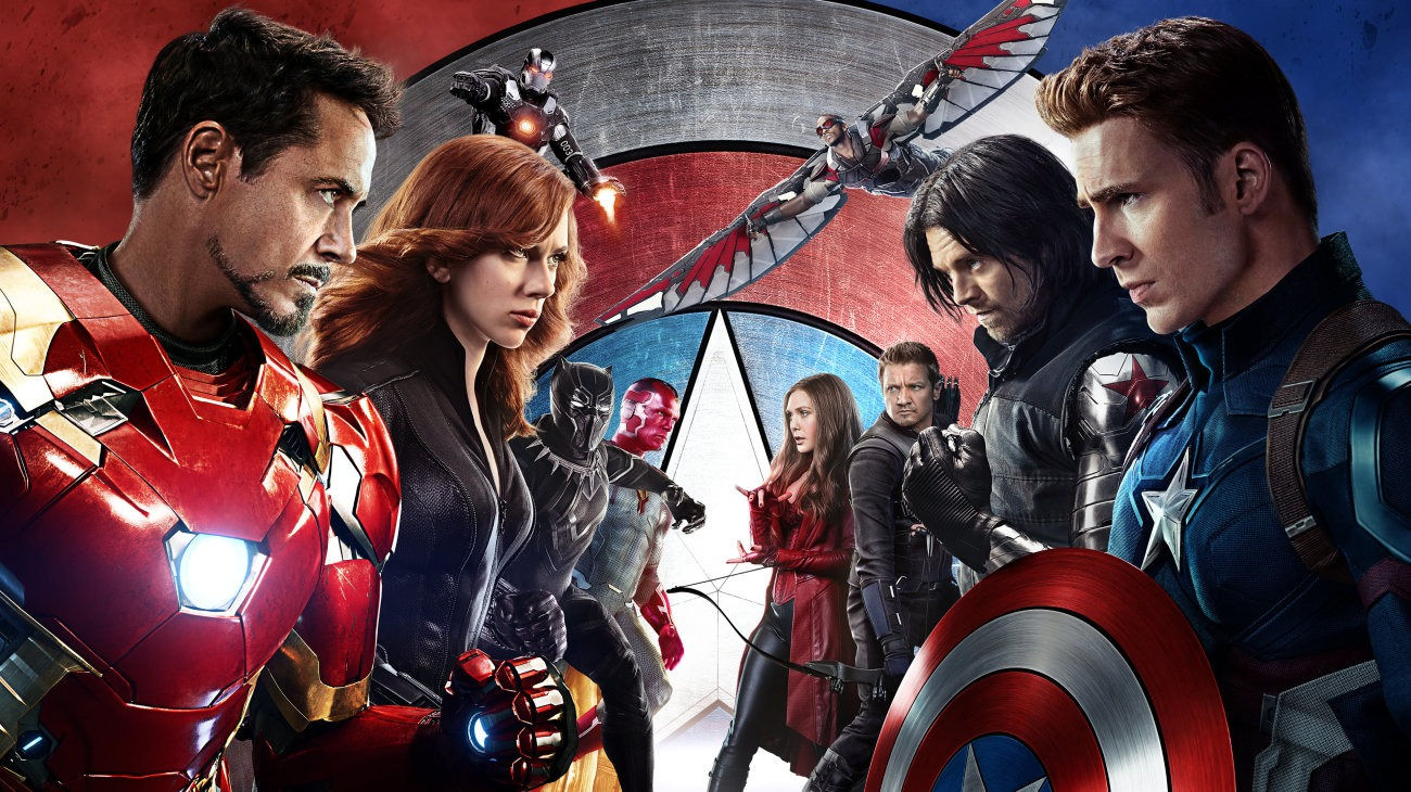 Captain America: Civil War backdrop