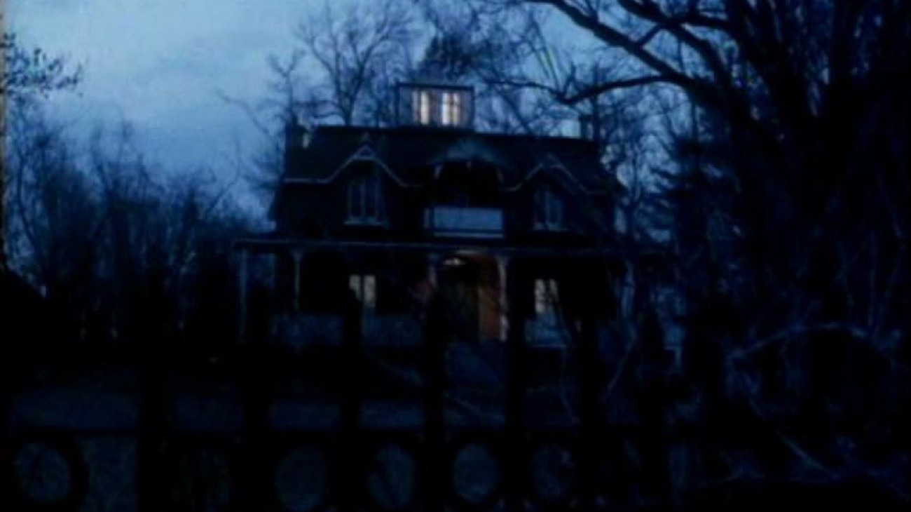 The Amityville Curse backdrop