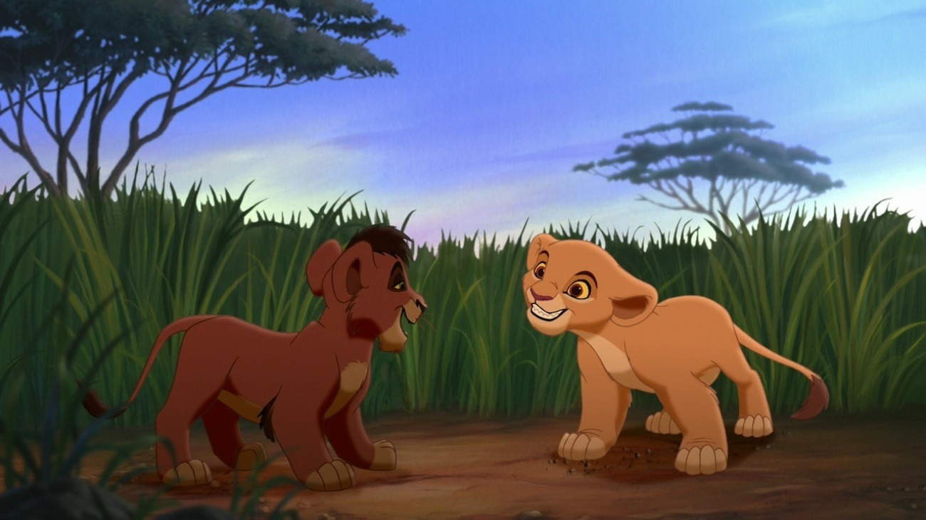 The Lion King 2: Simba's Pride backdrop