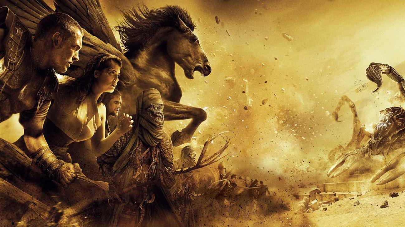 Clash of the Titans backdrop