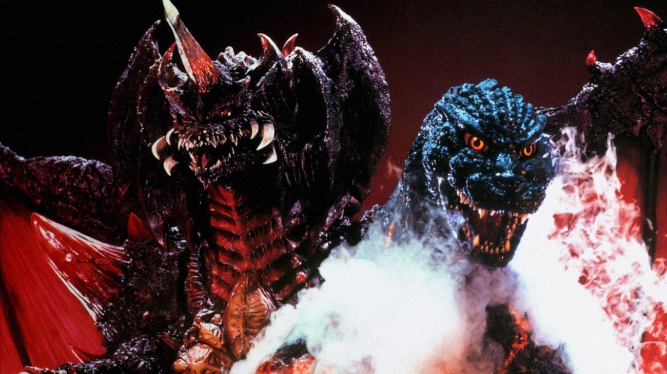 Godzilla vs. Destoroyah backdrop