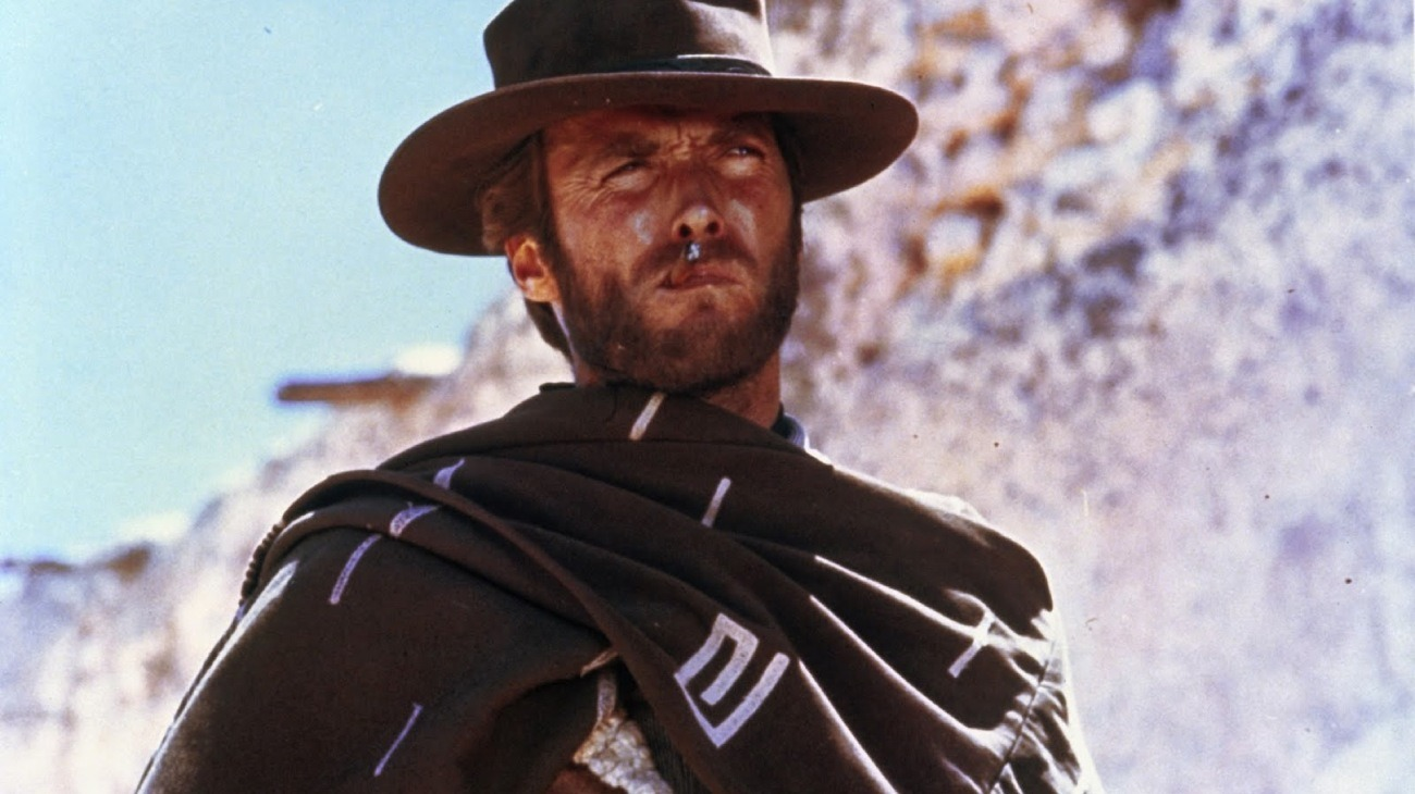 A Fistful of Dollars backdrop