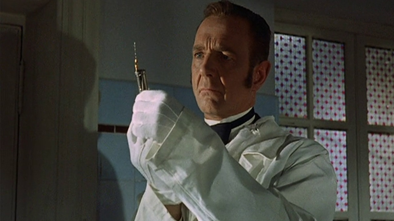 The Horrible Secret of Dr. Hichcock backdrop