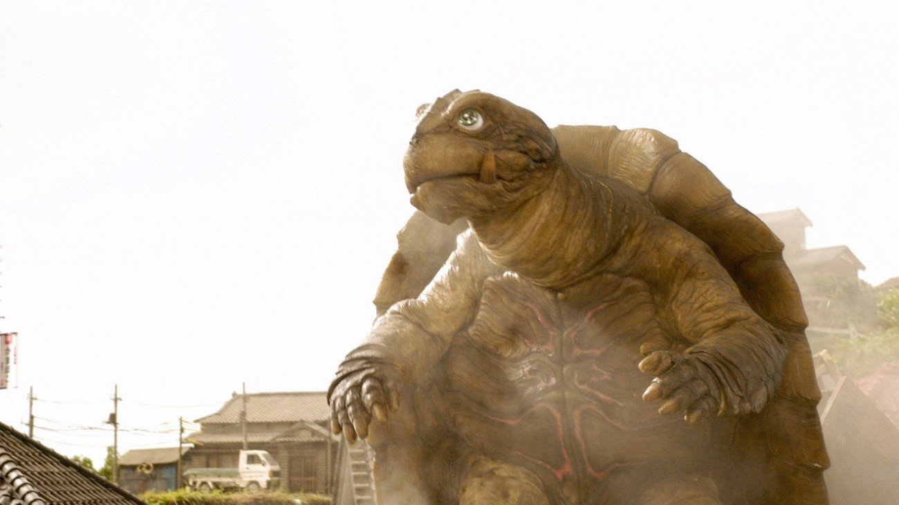 Gamera the Brave backdrop
