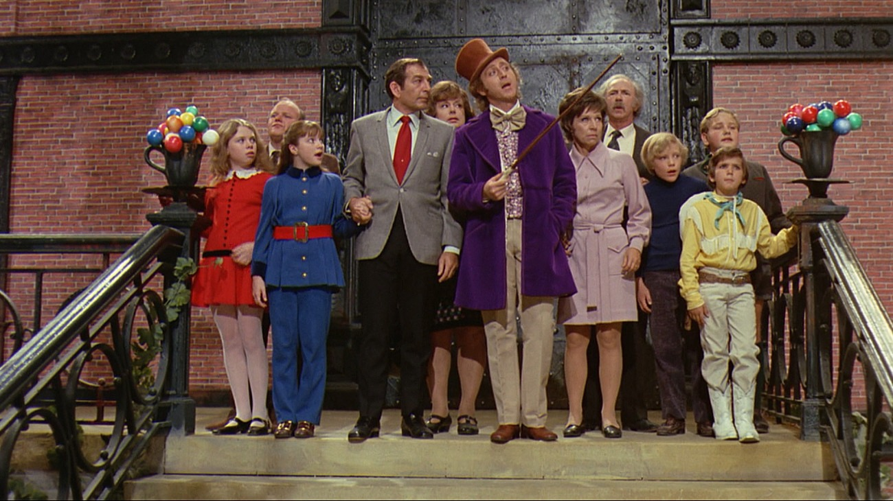 Willy Wonka & the Chocolate Factory backdrop