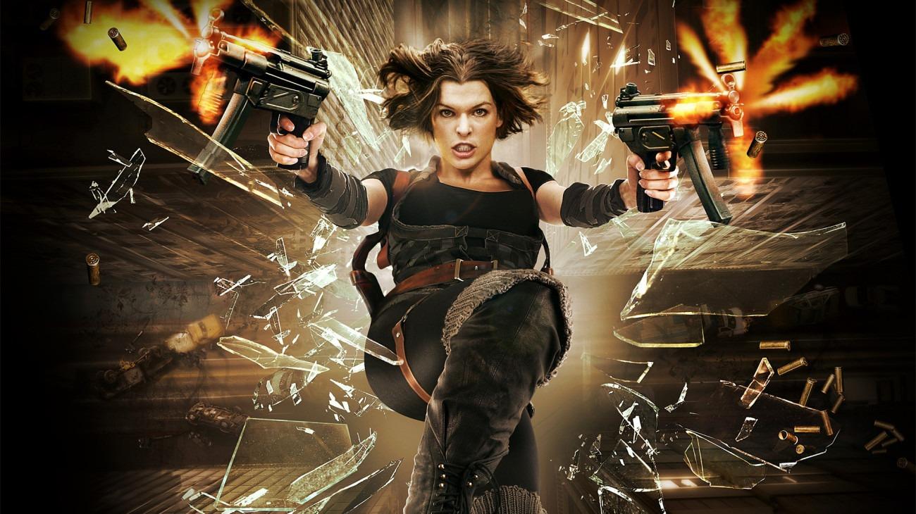 Resident Evil: Afterlife backdrop