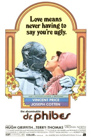 The Abominable Dr. Phibes poster