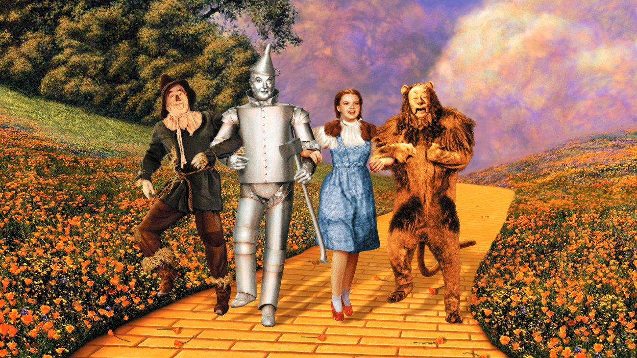 The Wizard of Oz backdrop