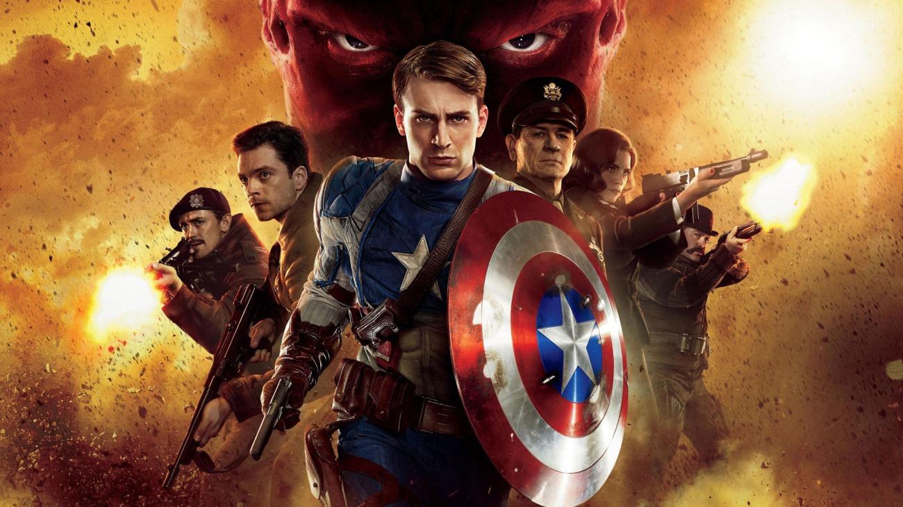 Captain America: The First Avenger backdrop