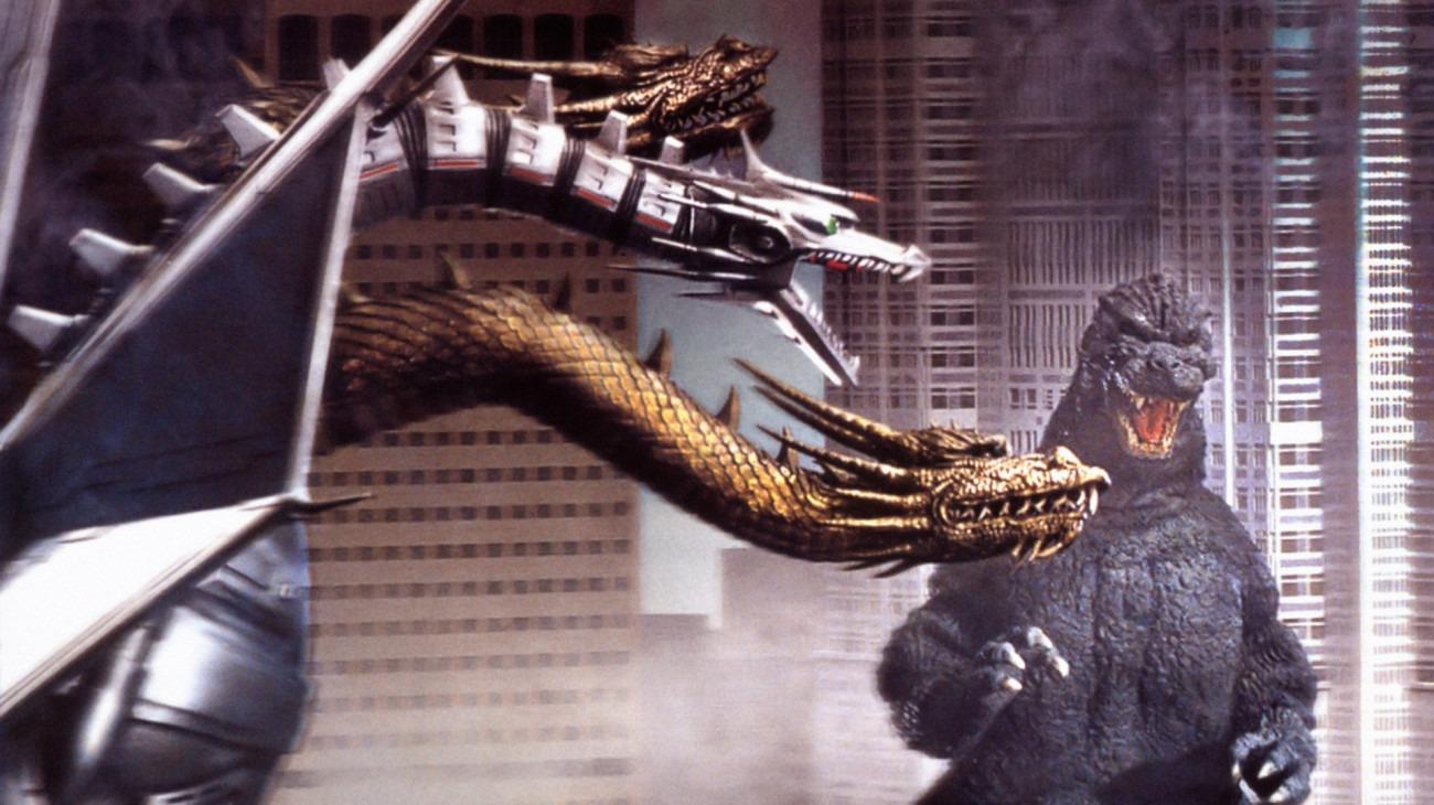 Godzilla vs. King Ghidorah backdrop