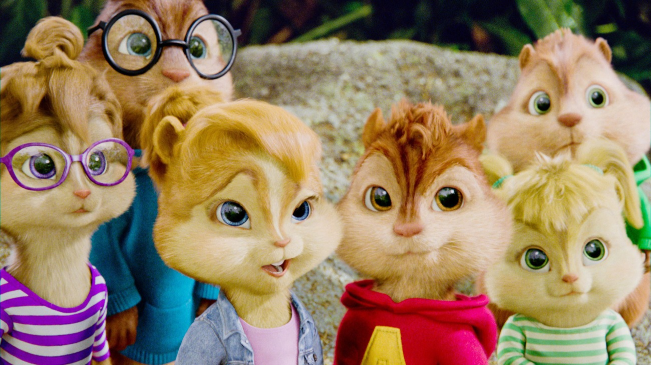 Alvin and the Chipmunks: Chipwrecked backdrop