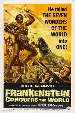 Frankenstein Conquers the World poster