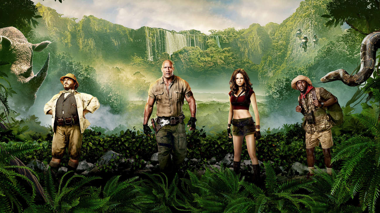 Jumanji: Welcome to the Jungle backdrop