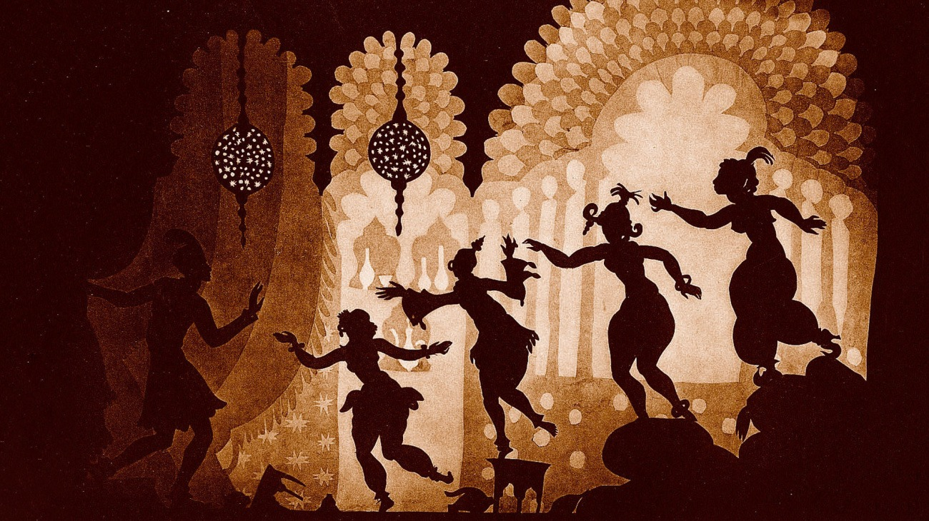 The Adventures of Prince Achmed backdrop