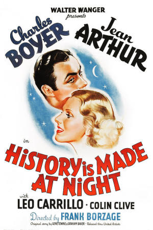 History Is Made at Night poster