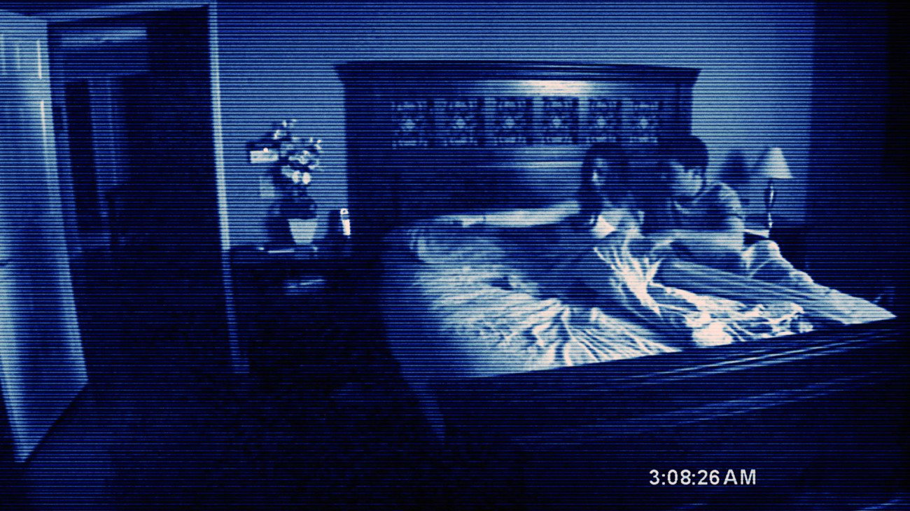 Paranormal Activity backdrop