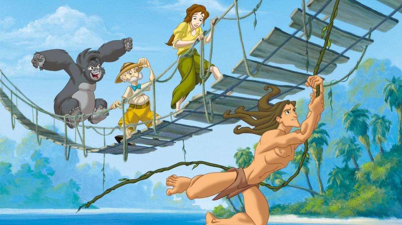 Tarzan & Jane backdrop