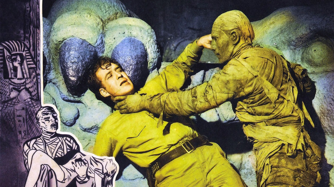 The Mummy's Hand backdrop