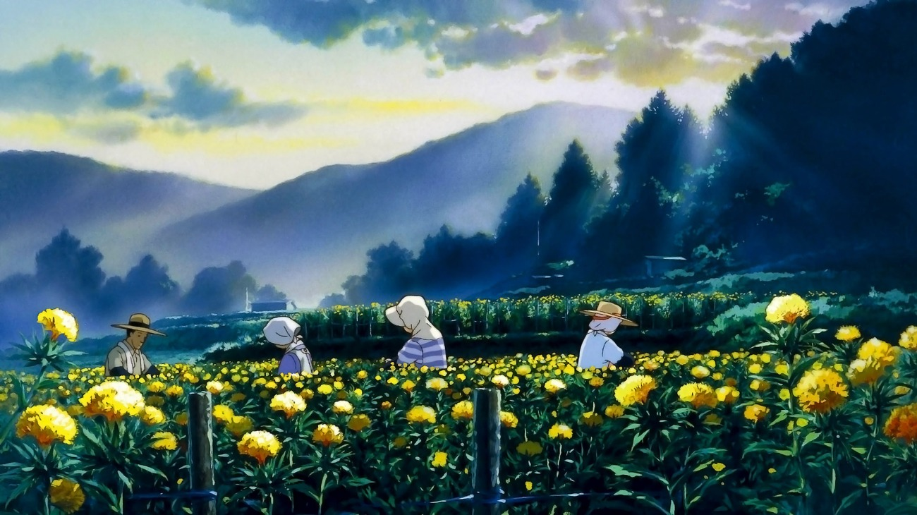Only Yesterday backdrop